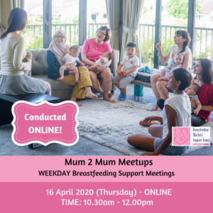 BMSG 16 APRIL 2020 Mum 2 Mum Meetup (FREE!) ONLINE @ Singapore | Singapore