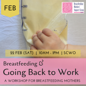 February 2020 Intake: Breastfeeding & Going Back to Work @ Singapore Council of Women's Organization | Singapore | Singapore