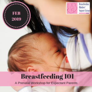 February 2019 Intake: Breastfeeding 101 @ Singapore Council of Women's Organization | Singapore | Singapore