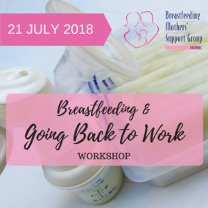 July 2018 Intake: Breastfeeding & Going Back to Work @ Singapore Council of Women's Organization | Singapore | Singapore