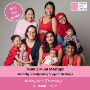 BMSG 16 May 2019 Mum 2 Mum Meetup (FREE!) @ East | Singapore | Singapore