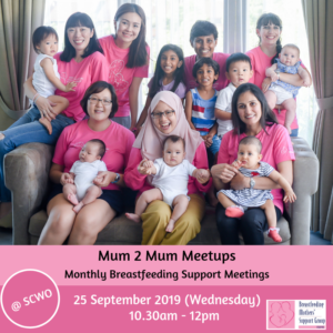 BMSG 25 SEPT 2019 Mum 2 Mum Meetup (FREE!) @ SCWO (BMSG Office) | Singapore | Singapore