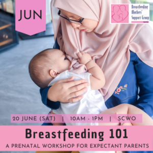 July 2020 Intake: Breastfeeding 101 @ SCWO | Singapore | Singapore