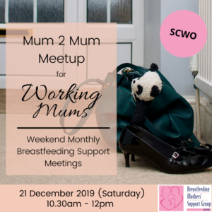 BMSG 21 DEC 2019 M2M for Working Mothers (Weekend) @ SCWO | Singapore | Singapore