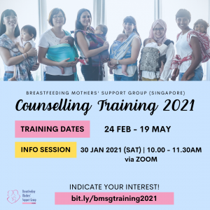 BMSG Counselling Training 2021 @ Singapore Council of Women's Organization | Singapore | Singapore