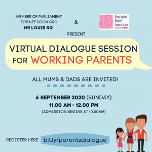 Working Parents' Dialogue - With MP Louis Ng x BMSG Singapore @ Singapore | Singapore